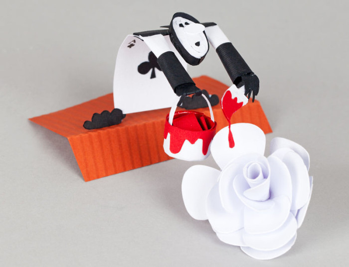 Artist Recreates Alice In Wonderland Using Carefully Crafted Paper