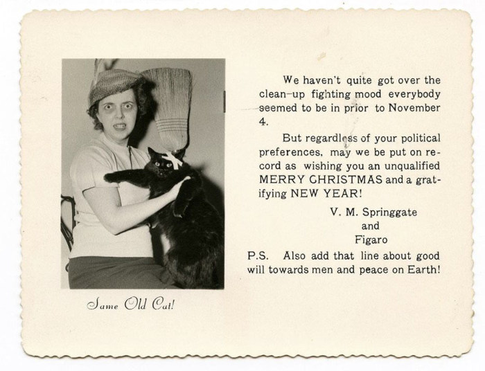 Bizarre Vintage Christmas Cards That Will Leave You Baffled