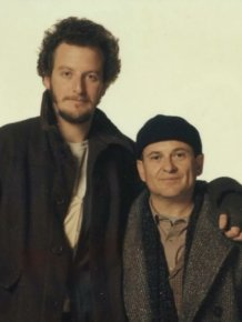 Harry And Marv From Home Alone Back In The Day And Today