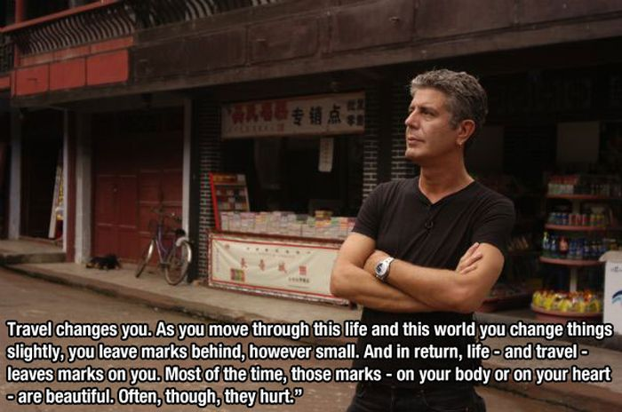 Anthony Bourdain Gives 15 Awesome Pieces Of Life Advice