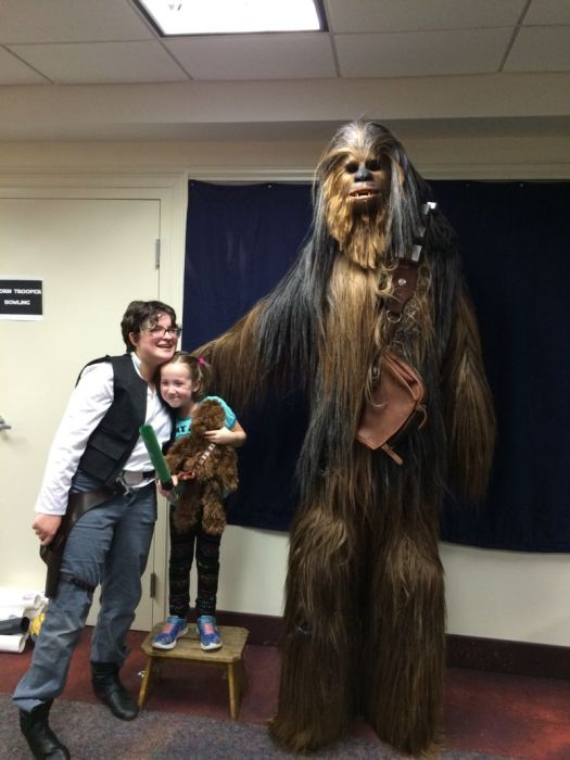 Fan Builds His Own Lifelike Chewbacca Costume From Star Wars  sc 1 st  PIXIMUS & Fan Builds His Own Lifelike Chewbacca Costume From Star Wars | Others