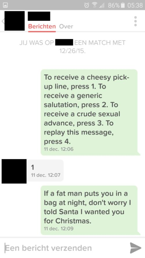There's A Reason Why This Guy's Tinder Pick-Up Lines Aren't Working