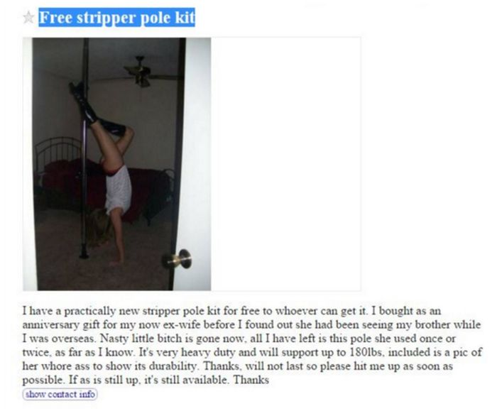 Craigslist Ads That Are Almost Too Good To Be True