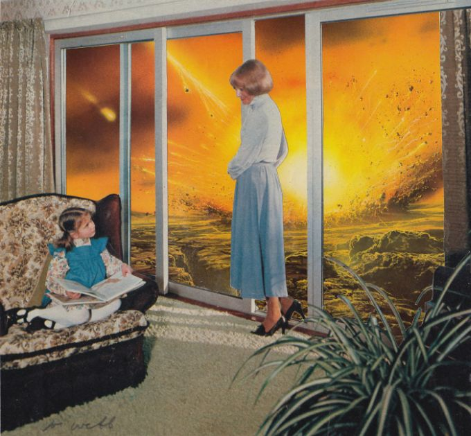 Cynical Collages Reveal Uncomfortable Truths About The World We Live In
