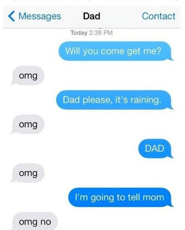 It Turns Out That Dad Texts Are Even Better Than Dad Jokes