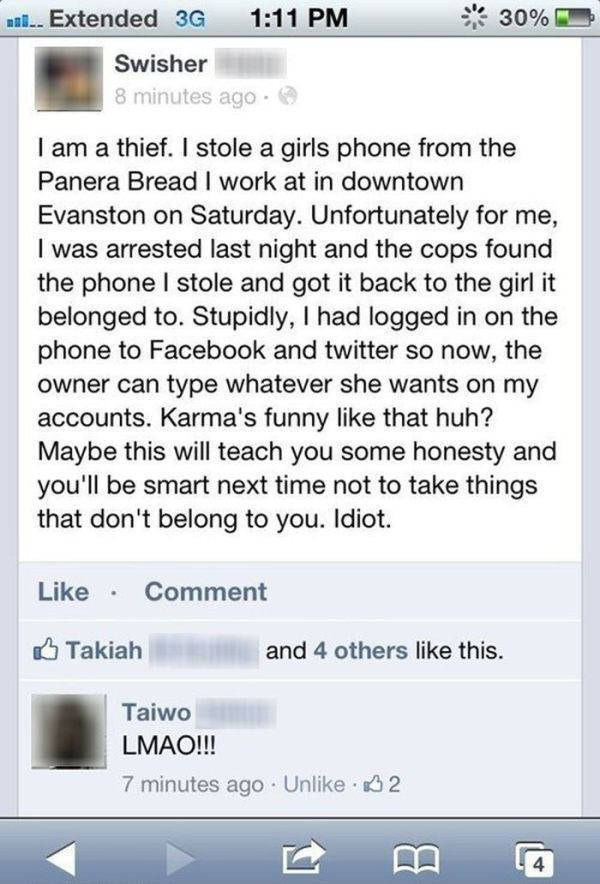 You Just Can't Escape The Wrath Of Karma