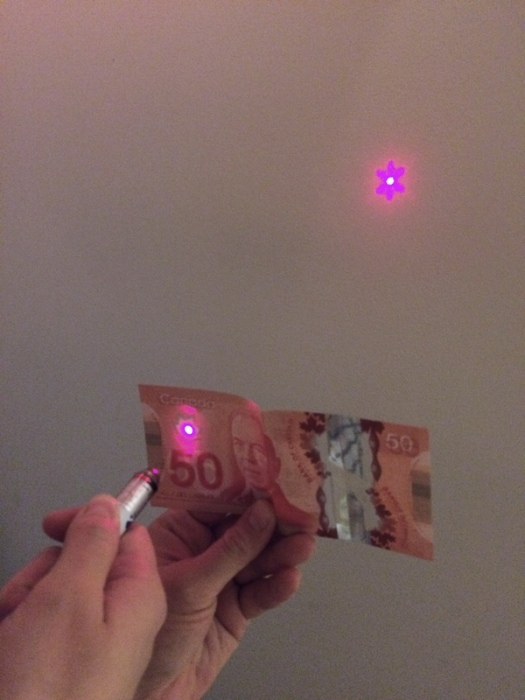 What Christmas Lights Look Like Through A Canadian Dollar