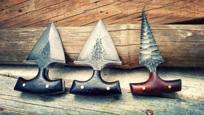 A Deadly Collection Of Push Daggers