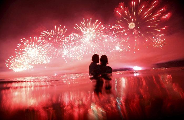 the 2015 new year u2019s eve celebrations on copacabana beach