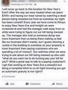 Restaurant Manager Puts Obnoxious Customer In Her Place On Facebook