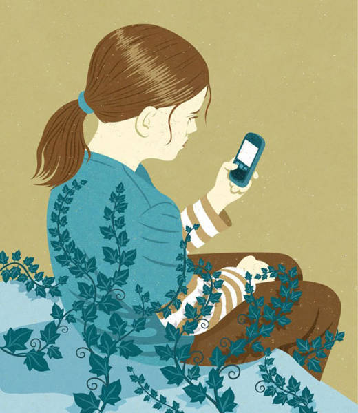 Honest Illustrations That Look At Society's Addiction To Technology