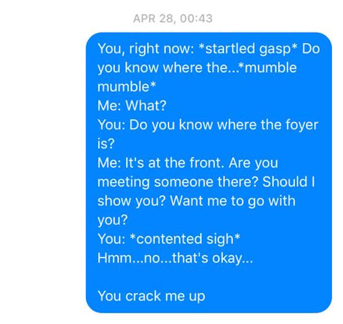 Wife Texts Husband All The Bizarre Things He Says in His Sleep