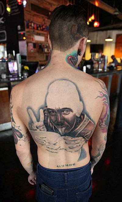 Bristol Man Says His Sexually Explicit Tattoo Is Going To Offend A Lot Of People