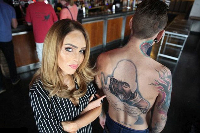 dating a man with a lot of tattoos
