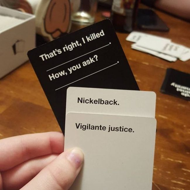 Nickelback Disturbing Cards Against Humanity Combinations You Cant Help But Laugh At Piximus Disturbing Cards Against Humanity Combinations You Cant Help But