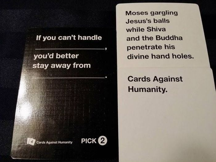Disturbing Cards Against Humanity Combinations You Can't Help But Laugh At
