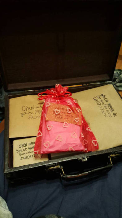 Creative Girl Gives Her Boyfriend A Very Unique Gift