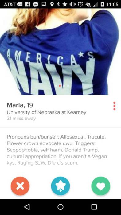 Tinder Is Like A Box Of Chocolates, You Never Know What You're Going To Get