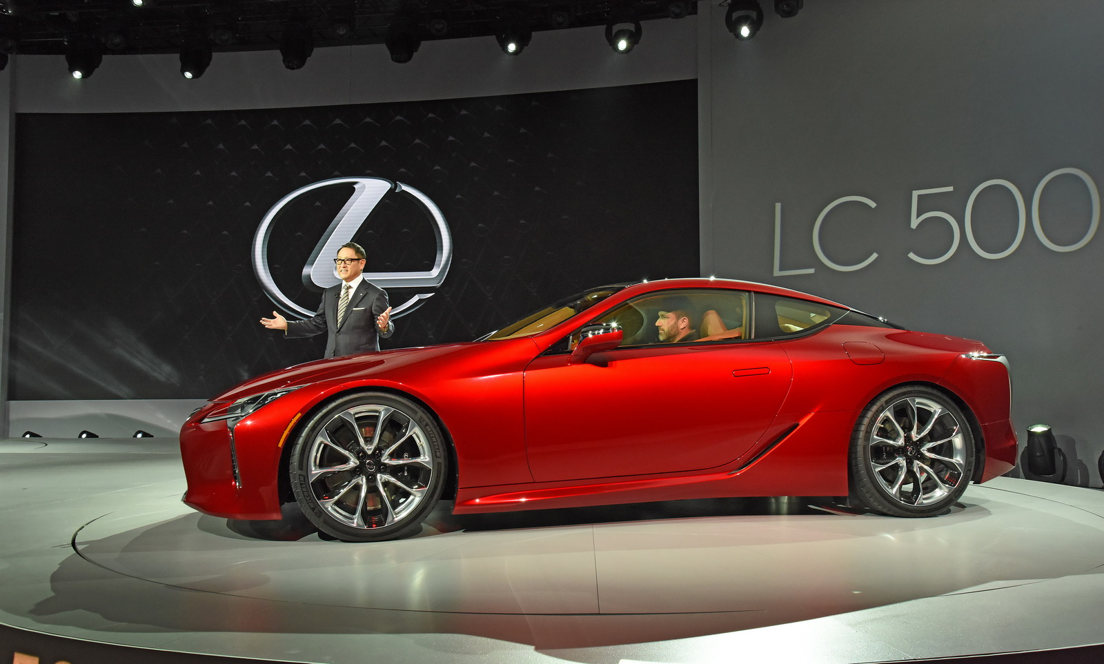Lexus LC 500, part 500