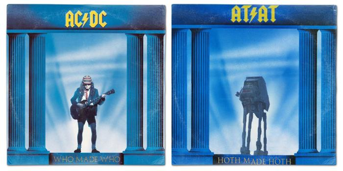 These Star Wars Album Cover Mashups Are Just Perfect