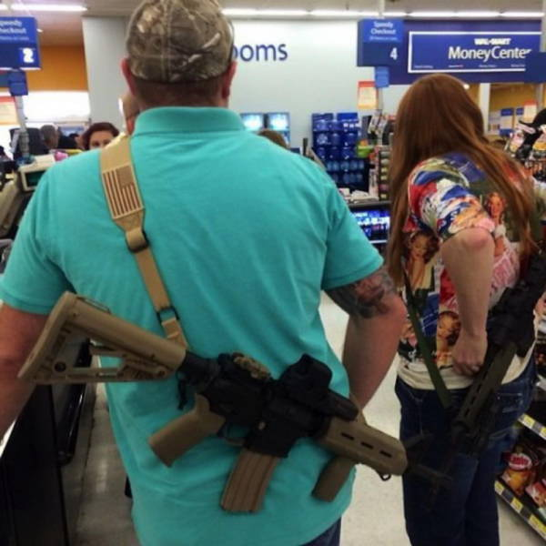 People In Texas Don't Leave The House Without A Gun