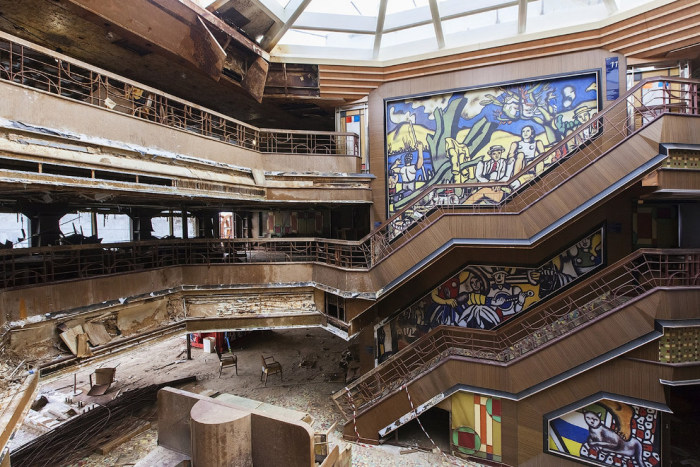 A Look Inside The Costa Concordia