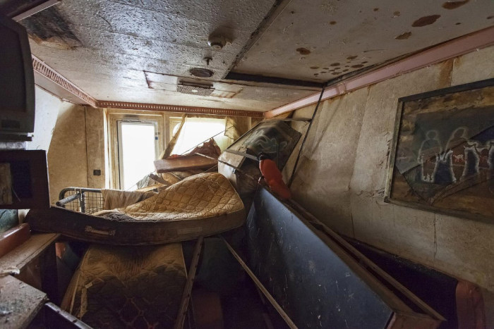 A Look Inside The Costa Concordia