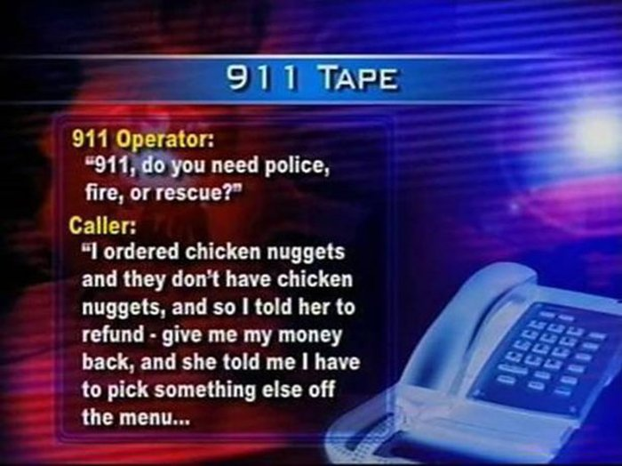 When People Call 911 For All The Wrong Reasons
