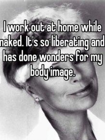 People Reveal The Strange Things They Do When They're Naked At Home