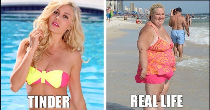 What People Look Like On Tinder Compared To Real Life