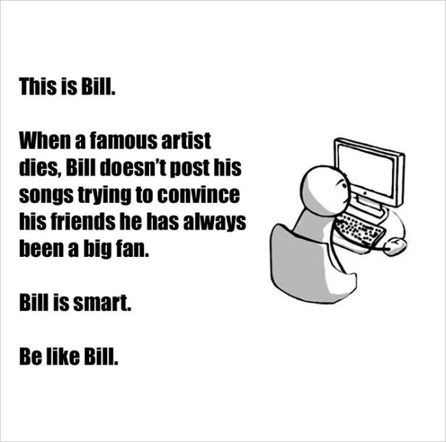 Everybody On Facebook Could Learn A Thing Or Two From Bill