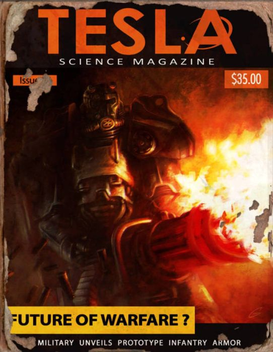 You Can Find Some Pretty Awesome Magazine Covers In Fallout 4, part 4