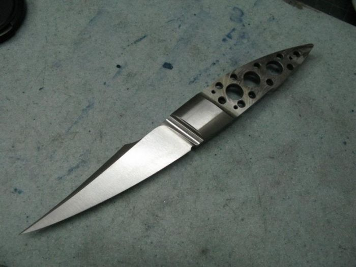 How To Create A Custom Knife All On Your Own