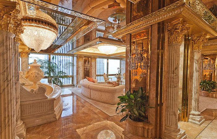 See How Donald Trump Lives In These Photos From His New York Penthouse