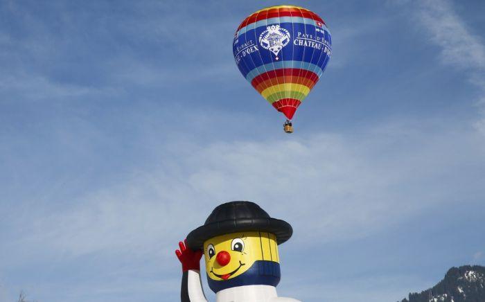 Stunning Photos From Switzerland's International Balloon Festival