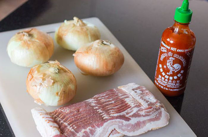 The Perfect Recipe For Bacon Wrapped Onion Rings