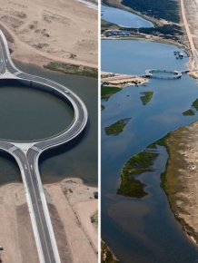 In Uruguay There's A Circular Bridge With An Unforgettable View
