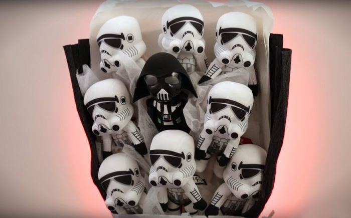 Ditch The Flowers And Get Your Date A Star Wars Bouquet For Valentine's Day