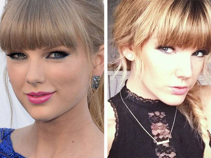 It's Almost Impossible To Tell Which One Is The Real Taylor Swift
