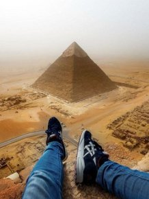 Incredible Photos From The Great Pyramid Of Giza
