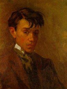 Pablo Picasso's Self Portrait At Age 16 Compared To Age 72