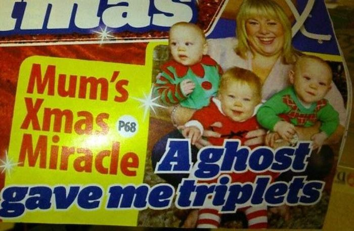 25 Bizarre But True Tabloid Magazine Headlines