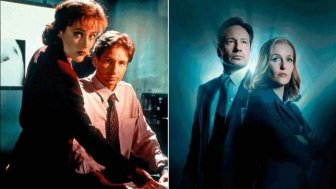 The Cast Of The X-Files Back In The Day And Today