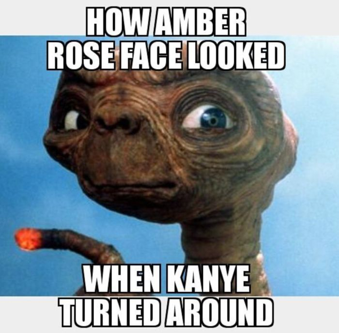 The Internet's Best Reactions To Amber Rose Calling Out Kanye West