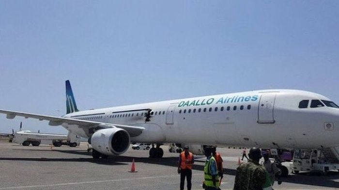 Explosion Takes Place On Board A Daallo Airlines Flight