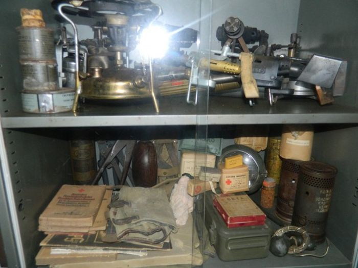 A Look Inside The Arsenal Of A SS Veteran