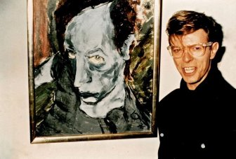 One Of A Kind Paintings By The Late, Great David Bowie