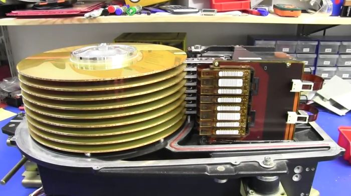What A 3.78 Gig Hard Drive Looked Like In The '70s