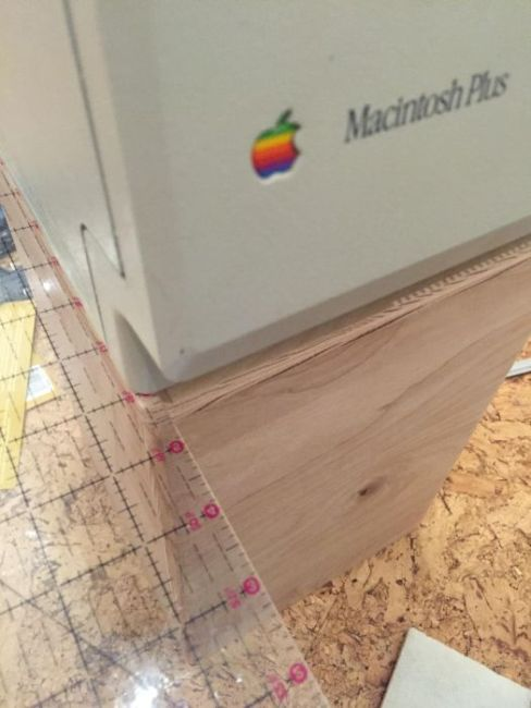 Classic Mac Computer Gets Transformed Into A Cool Trash Can