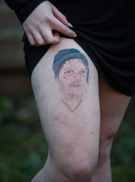 This Woman Got A Ridiculous Tattoo After Making A Drunken Bet